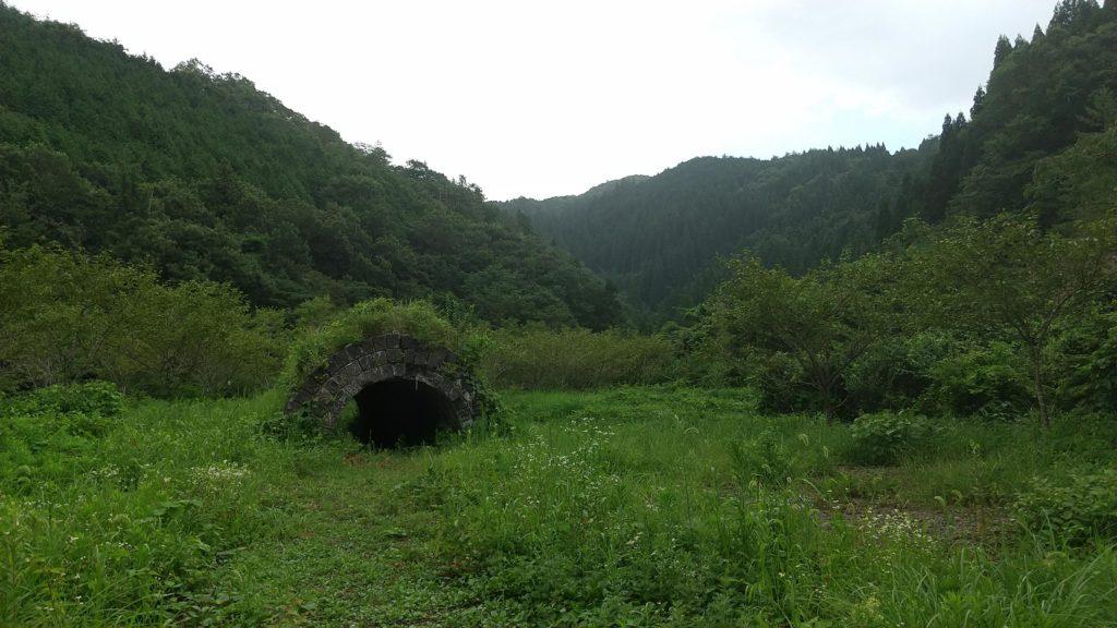 吉岡銅山跡 トンネル